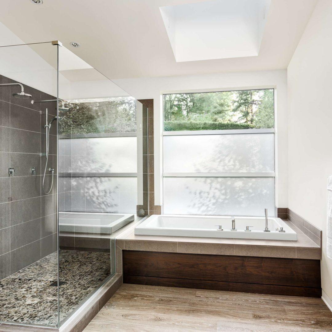 bathroom remodel american express construction